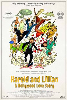 movieposteroftheday: US one sheet for HAROLD AND LILLIAN(Daniel... Movie Poster of the Day