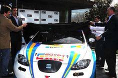 Pepe Oriola presents his new Seat León 1.6T WTCC.