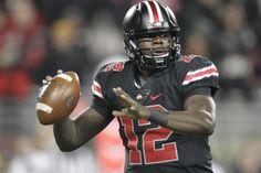 Cardale Jones' Future Reportedly 'Fluid' Despite Comments on 2016 NFL Draft College Quarterbacks, Cardale Jones, Young Guns, Football Helmets, Ohio, Nfl, Future, Google Search, Columbus Ohio