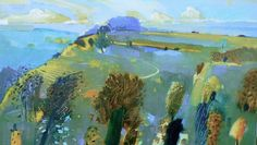 After Ivon Hitchens Artist Painting, Photography Collage, Contemporary Landscape Painting, Painting, Imagination Art, Art, Art Sketches, Landscape Art, Fairytale Art