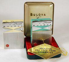 Bulova transistor radios from the 1960's.