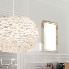 Vita Lighting Eos Feather Pendant Shade
