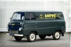 Lotus Cars' Ford Thames van