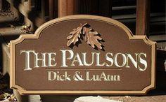 Custom Personal Name Sign office home decor by RichardMalacek, $175.00