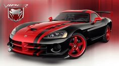 The Dodge Viper VX was unveiled at the 2012 New York Motor Show by the American car company Chrysler. The went into production in 2013 and is available as a Coupe. Check Out This Amazing Dodge Viper Video Next Page: Viper Engine and Specifications Sexy Cars, Hot Cars, My Dream Car, Dream Cars, 2010 Dodge Viper, Viper Acr, Pit Viper, Lamborghini, Ferrari