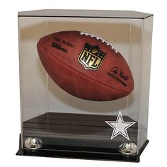 NFL Floating Football Display Case