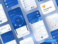 FREE Pharmagy Medical App - demo 👩⚕️ by Adam Sokołowski