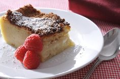 Milk Terte, anyone? South African Desserts, South African Recipes, Melktert, Soul Food, Tart, French Toast, Cheesecake, Sweets, Breakfast