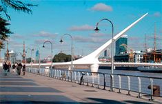 Apartment rentals in Puerto Madero, Buenos Aires. Guide to Puerto Madero and places to visit in Buenos Aires. Advertise your apartment, houses or any other real estate properties in Buenos Aires. Apartment rentals and short term rentals in Puerto Madero. Places Ive Been, Places To Visit, Santiago Calatrava, Barcelona, What A Wonderful World, Travel Agency, South America, Latin America, Wonders Of The World