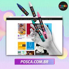 A gente fez um upgrade super lindão no nosso site para melhorar ainda mais a experiência POSCA com vocês! Vem conferir 😉 www.posca.com.br #POSCA Posca, Fez, Artists