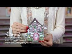 EZ Steps to Create Shaped Cards and Vellum Accents -Wildwood Cottage Collection - YouTube