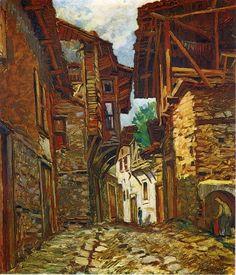 Celal Uzel (Eski bir İstanbul sokağı)