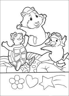 Wonder Pets Coloring Pages 31