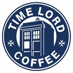 "Doctor Who And Starbucks inspired ""Time Lord Coffee"" decal custom cut to order Silhouette Projects, Silhouette Design, Silhouette Cameo, Dr Who, Starbucks Logo, Starbucks Coffee, Disney Starbucks, Coffee Logo, Coffee Meme"