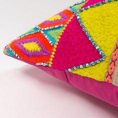 Coussin en coton 40 x 40 cm CHANDANA | Maisons du Monde