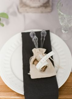 White and Slate Gray Wedding | photography by http://natashahurley.com/
