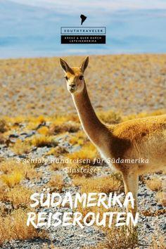 Südamerika Reiserouten