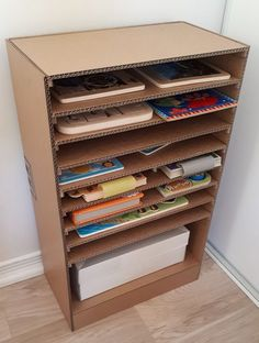 Puzzle Storage and Bookcase Printable DIY image 2
