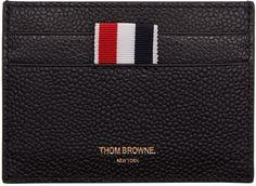 Thom Browne - Black Single Card Holder