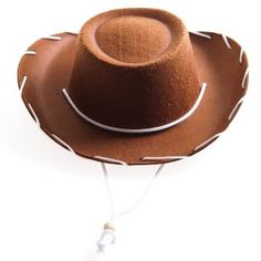 Childrens Brown Felt Cowboy Hat by Century Novelty by Century, brown, Size Small Toddler Cowboy Hat, Felt Cowboy Hats, Cowgirl Hats, Cowgirl Costume, Costume Hats, Western Costumes, Cowboy Accessories, Costume Accessories, Brown Belt Outfit