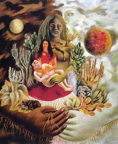 Frida Kahlo, Amoroso abbraccio dell' universo