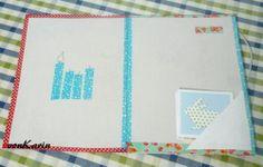 DIY: Karton upcycling mit Masking Tape http://vonKarin.blog.de