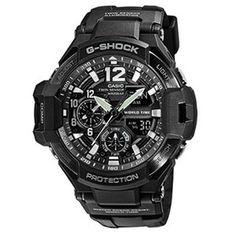 Find Casio Men's G-Shock Black Resin Quartz Watch online. Shop the latest collection of Casio Men's G-Shock Black Resin Quartz Watch from the popular stores - all in one Casio G-shock, Casio Watch, Casio Protrek, Casio G Shock Watches, Sport Watches, Cool Watches, Men's Watches, Casio Vintage, Seiko Presage