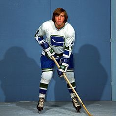 Barry Wilkins scored The Vancouver Canucks' first NHL goal, October 1970