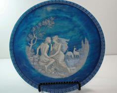 Cameo Collector Plate The Isle of Circe by BridgetsCollection, $20.00