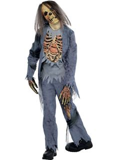 Boys Corpse Zombie Costume - Party City