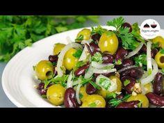 Салат за 5 минут ДВЕ БАНОЧКИ Вкусный, легкий, постный закусочный салатик на новогодний стол - YouTube
