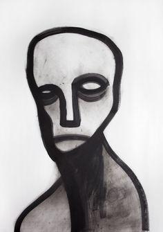 Artist Jesper Waldersten at Illustration Division Arte Indie, Weird Art, Psychedelic Art, Horror Art, Surreal Art, Art Sketchbook, Portrait Art, Aesthetic Art, New Art