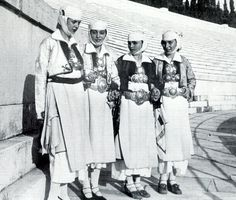 Traditional costumes from Pogoni (Epirus)