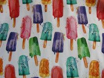 "Jersey ""Popsicles"", ""Eis am Stiel"" von Käpynen Bunt, Etsy, Painting, Popsicles, Creative, Painting Art, Paintings, Draw"
