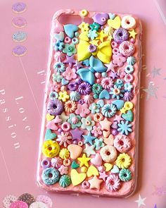 DONUTS PHONE case, kawaii phone case, 3D phone case, food phone case, decoden phone case, kawaii iPhone case, cake phone case, cream case Sharpie Phone Cases, Food Phone Cases, Cute Phone Cases, Iphone Cases, Iphone 8, Kawaii Phone Case, Decoden Phone Case, Diy Phone Case, Biscuit