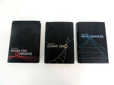 Sprawl Trilogy Cover Redesign by Lindsay Soto, via Behance