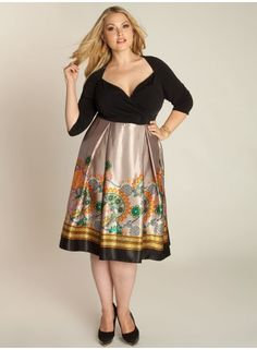 Leah Dress- Thinking of getting this for my cousin's wedding.  Not sure if its got too much breast action for a family function...