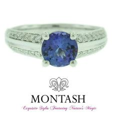 The deep #blue of the #tanzanite runs from ultramarine blue to light violet-blue. #montashjewellerydesign