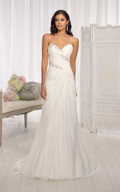 Essense of Australia D1648, $599 Size: 14 | Sample Wedding Dresses
