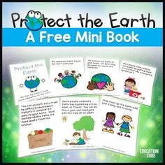 Earth Day:  An Earth Day Mini-Book / Close ReadIf you love your planet, and you want your kids to learn about the importance of taking care of the earth, this mini-book is just the product for you! This reader included information about recycling, picking up trash, compost bins, and planting new life.