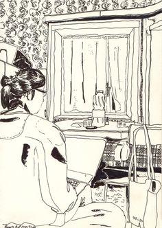 """La camera di Cristina a """"Casaccia"""""""