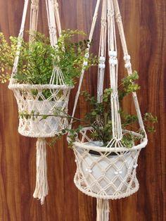 Main- Macrame hanging baskets