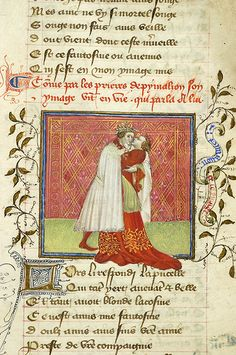 Roman de la Rose, MS M.245 fol. 152r - Images from Medieval and Renaissance Manuscripts - The Morgan Library & Museum