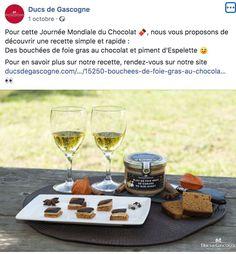 Journée mondiale du Chocolat Ducs de Gasgogne