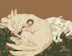 """""""art of Princess Mononoke""""....jetzt sollt ich schlafen und ....mein Geheimnis♡♡♡"""