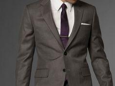 Metallic Gray Suit - Indochino