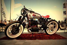 BMW Expresso Racer - Iron Bikers Days 2011 - Cafe Racer by MegathonCharlie Bmw Cafe Racer, Cafe Racer Motorcycle, Motorcycle Clubs, Cafe Racers, Bmw Boxer, Vintage Motorcycles, Custom Motorcycles, Car Purchase, Custom Bobber