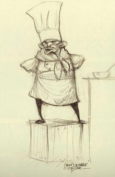 Ratatouille - The Art of Disney Animation #2DAnimation #AnimationTuesday www.thedae.com