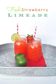 Easy Peach Limeade Recipe | Everything's Peachy! =) | Pinterest ...