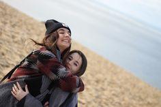 Calin sur la Dune du Pyla avec la copine !